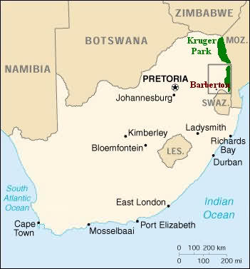 Barberton, the gem of the Lowveld and the Wild Frontier